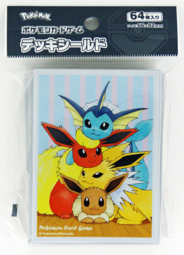 Pokemon Card Game Deck Shield Eevee Family 226927