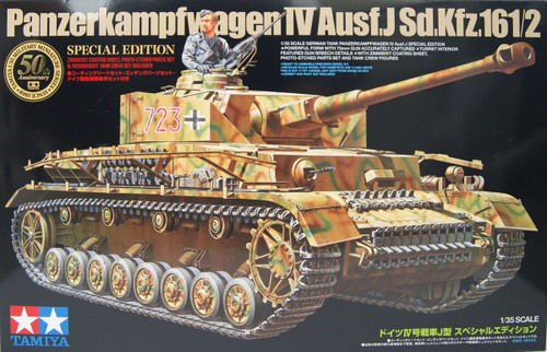 Tamiya 25183 German IV Panzerkampfwagen IV Ausf. J Type Special Edition 1/35 Scale Kit