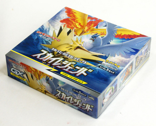 "Pokemon Card Game Sun & Moon Enhanced Booster Pack ""Sky Legend"" 1 BOX"