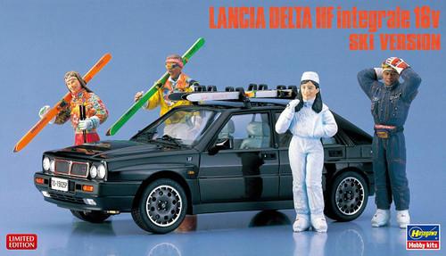 Hasegawa 20384 Lancia Delta HF Integrale 16V Ski Ver. 1/24 scale kit