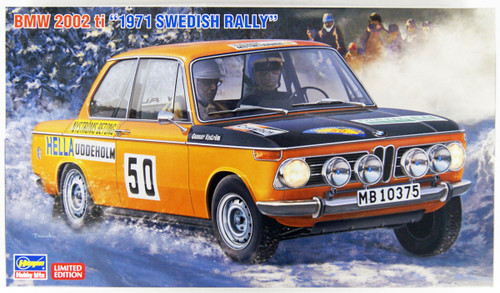 Hasegawa 20381 BMW 2002ti 1971 Swedish Rally 1/24 Scale kit