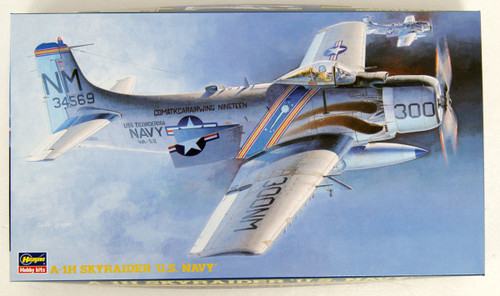 Hasegawa BP6 A-1H Skyraider US Navy 1/72 Scale kit