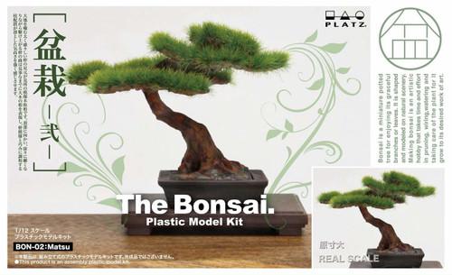 Platz BON-02 The Bonsai (Part 2) 1/12 Scale Plastic Model Kit