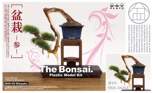 Platz BON-03 The Bonsai (Part 3) 1/12 Scale Plastic Model Kit