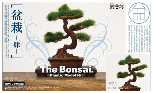 Platz BON-04 The Bonsai (Part 4) 1/12 Scale Plastic Model Kit