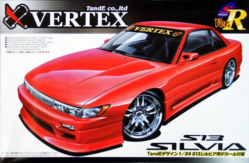 Aoshima 39779 Nissan Silvia (S13) VERTEX FULL AERO 1/24 Scale Kit