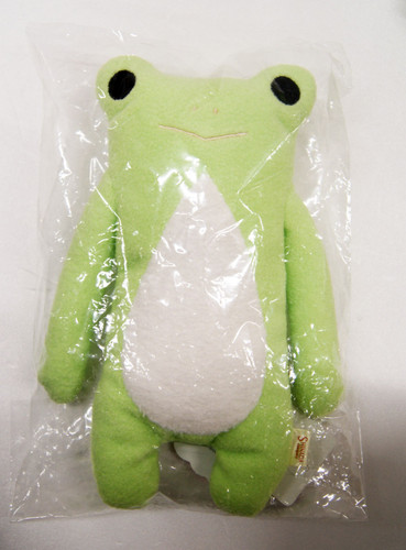Shinada Fumo Fumo-san Plush Doll Keroonyo Light Green M (088327)