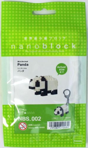 Kawada NBS-002 nanoblock Mini Animal Panda