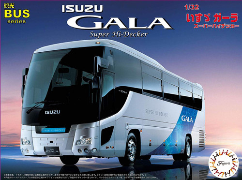 Fujimi 011127 Isuzu Gala High Decker 1/32 Scale kit