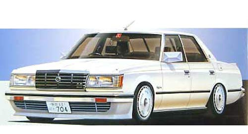 Fujimi ID-270 Toyota Crown 2.8 4-Door Royal Saloon '79 1/24 Scale kit