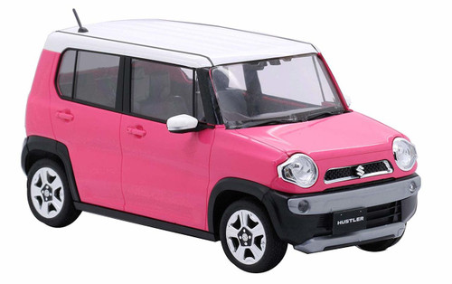 Fujimi 066158 Suzuki Hustler (Candy Pink Metallic) 1/24 Pre-painted Kit