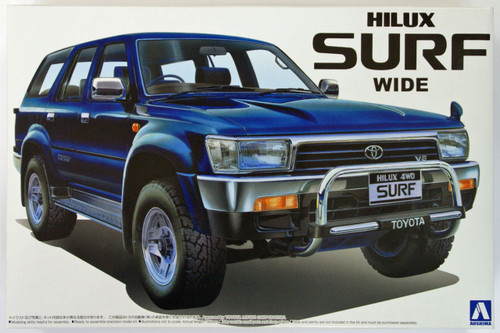 Aoshima 44148 Toyota Hilux Surf 4WD Wide 1/24 Scale Kit