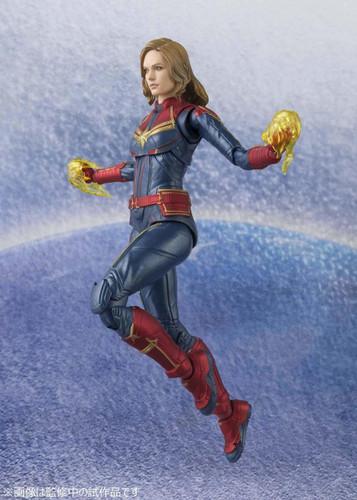 Bandai S.H. Figuarts Captain Marvel Figure