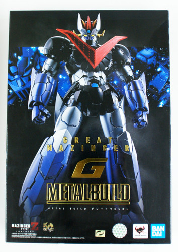 Bandai METAL BUILD Great Mazinger Figure (Movie Mazinger Z Infinity)