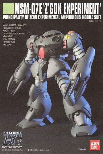 Bandai HGUC 039 Gundam MSM-07E Z'GOK EXPERIMENT 1/144 Scale Kit