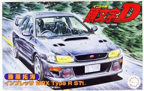 Fujimi 183664 Impreza WRX Type R Sti Takumi Fujiwara 1/24 Scale kit