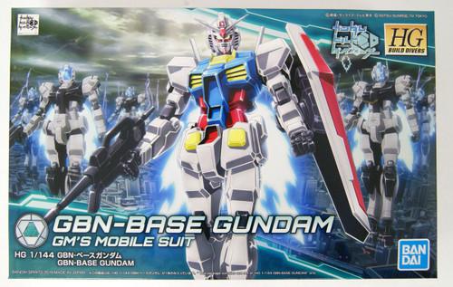 Bandai Gundam Build Divers 025 GBN-Base Gundam 1/144 Scale Kit