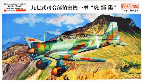 Fine Molds FB23 IJA Type 97 Reconnaissance Airplane Ki-15-I 'Babs' The Tiger Squadron 1/48 Scale kit