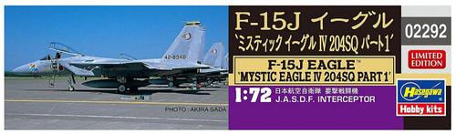 Hasegawa 02292 F-15J Mystic Eagle IV 204SQ Part 1 1/72 scale kit