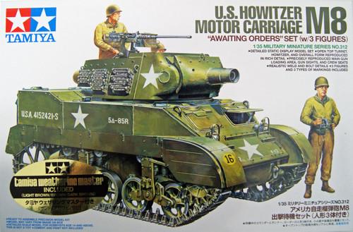 Tamiya 25133 U.S. Howitzer Motor Carriage M8 1/35 Scale Kit