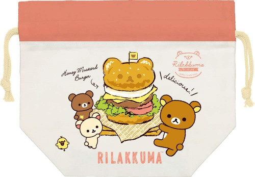 San-X Rilakkuma Drawstring Bag for Lunch Box CU33001 TJO