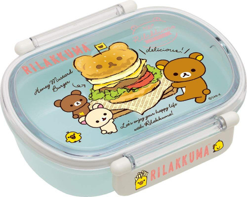 San-X Rilakkuma Lunch Box Food Container KY60301 TJO