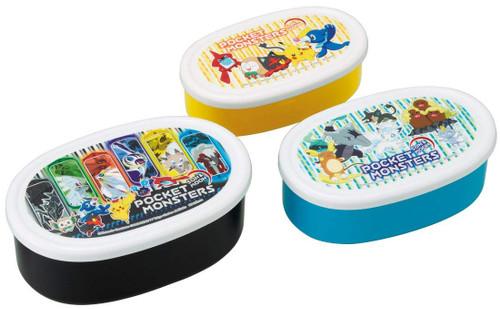 Skater Pokemon Sun & Moon Lunch Box 3 pcs. Set TJO