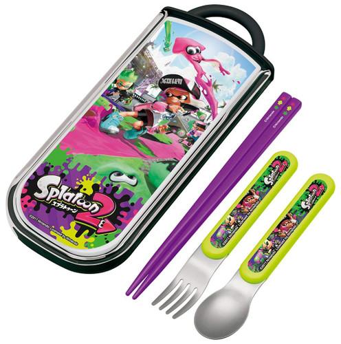 Skater Splatoon 2 Chopsticks Spoon & Fork Trio Set TJO