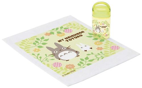 Skater My Neighbor Totoro Hand Towel & Case Set TJO