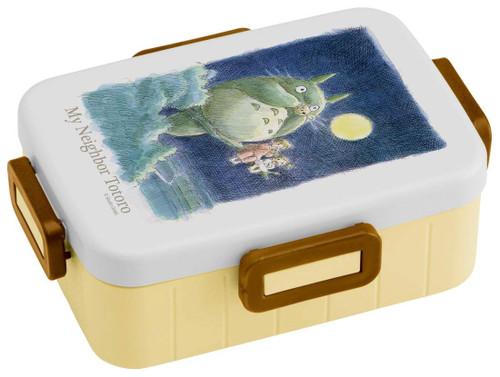 Skater My Neighbor Totoro 4-Lock One-tier Lunch Box 650ml TJO