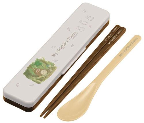 Skater My Neighbor Totoro Chopsticks & Spoon Set TJO