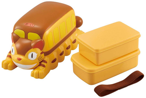 Skater My Neighbor Totoro 3D Neko bus Lunch Box Food Container Set TJO