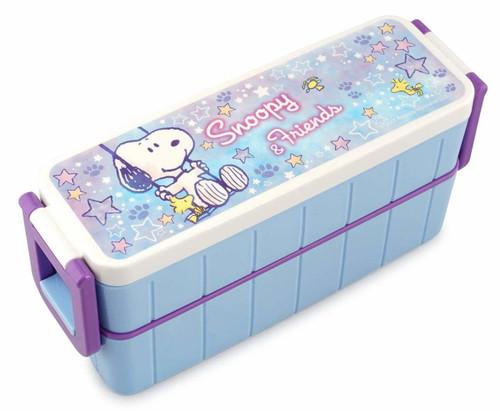 Skater Lunch Box Snoopy Star Light Blue 630ml TJO