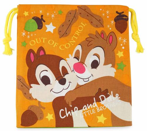 Skater Drawstring Bag Disney Chip & Dale  TJO