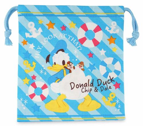 Skater Drawstring Bag Disney Donald & Chip & Dale  TJO