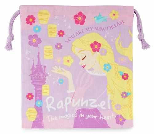 Skater Drawstring Bag Disney Rapunzel  TJO