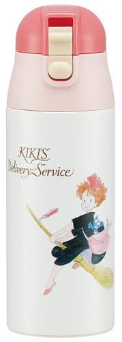 Skater Stainless Mug Water Bottle 360ml Kiki's Delivery Service TJO