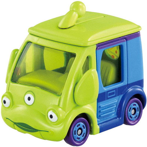Takara Tomy Disney Motors DM-14 Cubit Little Green Men  (115687)