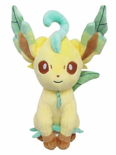 San-ei Plush Doll Pokemon All Star Collection PP123 Leafeon S