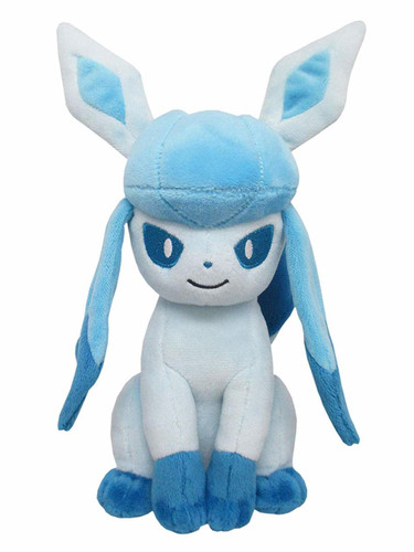 San-ei Plush Doll Pokemon All Star Collection PP124 Glaceon S