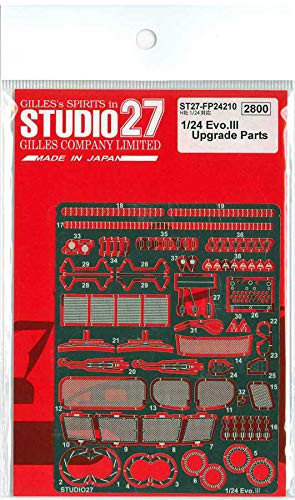 Studio27 ST27-FP24210 Lancer Evo. III Upgrade Parts for Hasegawa 1/24 Scale