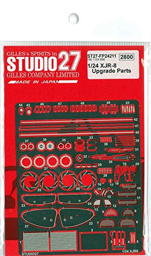 Studio27 ST27-FP24211 XJR-8 Upgrade Parts for Hasegawa 1/24 Scale