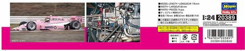 Hasegawa 20389 Italya Reynard 89D 1/24 Scale Kit