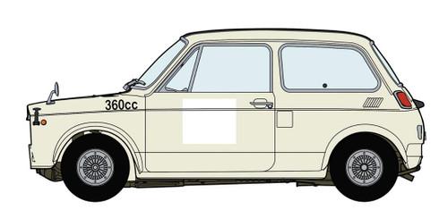 Hasegawa 20392 Honda N360 (N1) Race Specification 1/24 scale kit