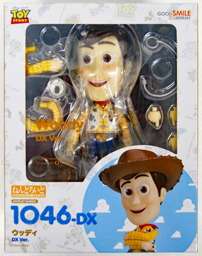 Good Smile Nendoroid 1046-DX Woody: DX Ver. (Toy Story)