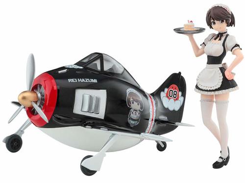 Hasegawa SP397 Egg Girls Collection No. 08 1/20 Rei Hazumi w/ Focke-Wulf Fw 190 Non-scale kit