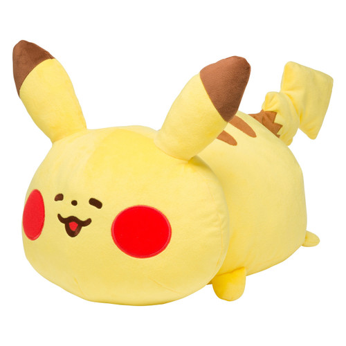 Pokemon Center Original Plush Doll Cushion Yurutto Pikachu 1215