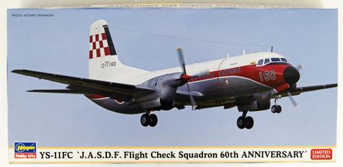 Hasegawa 10829 YS-11FC JASDF Flight Check Squadron 60th Anniversary 1/144 Scale kit