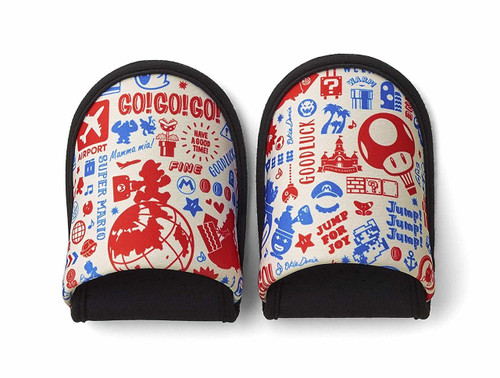 Nintendo Super Mario Portable Slippers Original Travel Pattern