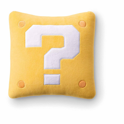 Nintendo Super Mario Travel Reversible Neck Pillow (Question Block)